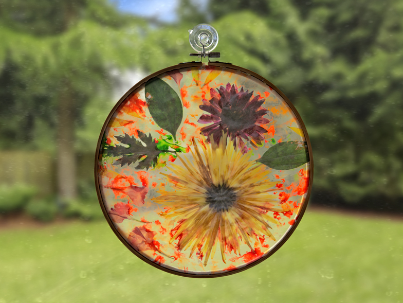 pressed-flower-hoop